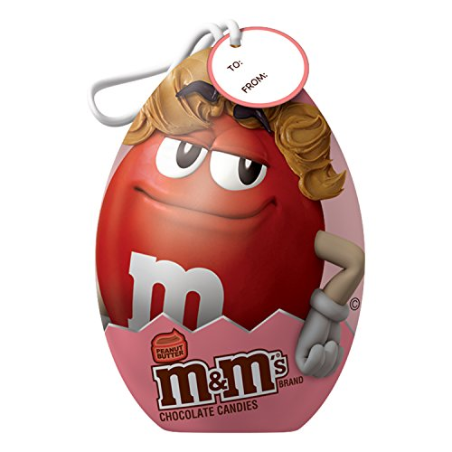 Mms peanut butter easter egg chocolate candy tin gift box pack of mms peanut butter chocolate candy easter egg tin gift box pack of 6 negle Images