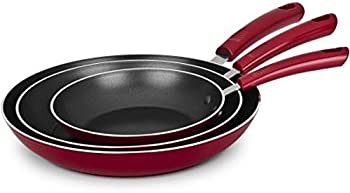 Mainstays 3-Piece Forged Skillet Set