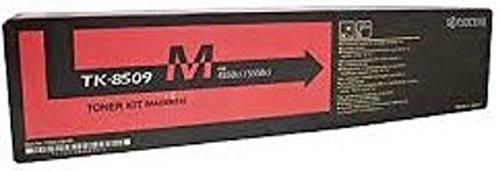 Kyocera 1T02LKBCS0 Model TK-8309M Magenta Toner Kit For use with Kyocera/Copystar CS-3050ci, CS-3051ci, CS-3550ci, CS-3551ci TASKalfa 3050ci, 3051ci, 3550ci and 3551ci A3 Color Multifunction Printers