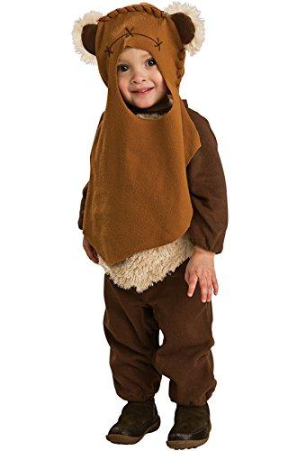 Star Wars Romper And Headpiece Ewok, Toddler ()