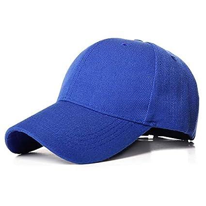 IMmpsGorra de béisbol de Color Liso para Mujer, Sombrero para ...