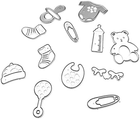 Baby bed Metal Cutting Dies For Scrapbooking Paper Craft Baby Shower Decor TC