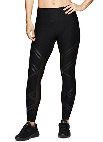 RBX Active Women's Workout Yoga Leggings Black Spring Combo S by RBX