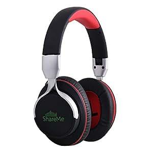 mixcder shareme 7 bluetooth over ear headphones comfortable advan. Black Bedroom Furniture Sets. Home Design Ideas