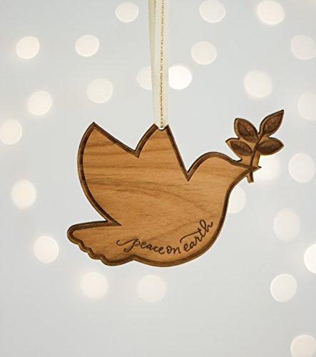Peace Dove Ornament - 7