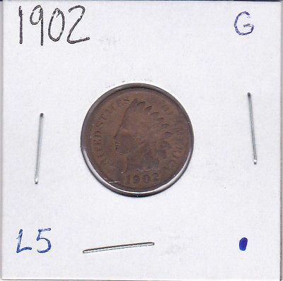 1902 U.S. Indian Head Cent / Penny in Case (1902 Indian Head Penny compare prices)