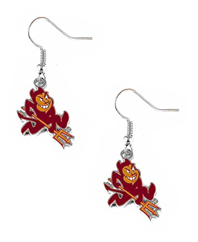 Dangle earrings NCAA Arizona State Sun Devils ASU sparky