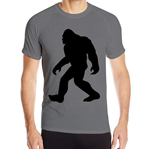 Drew Newton Sasquatch Bigfoot Classic Short-Sleeved Workout Clothes Round Neck T-Shirt Deep Heather XL]()