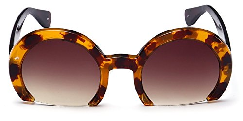 "PRIVÉ REVAUX ""The MILF"" [Limited Edition] Handcrafted Designer Cut Off Sunglasses For Women - Sunglasses Off Cut"
