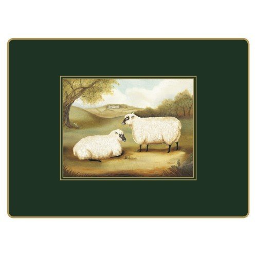 Lady Clare Continental Placemats - Naive Animals - Set of 4 by Lady Clare Placemats