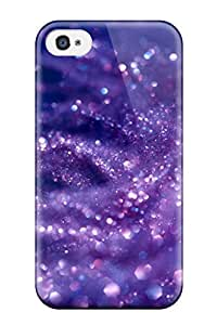 Scratch Proof Protection For Samsung Galaxy S6 Case Cover / popular Glittery Purple Phone Case