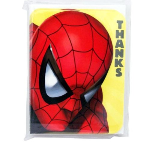 Spider Man Thank You Cards Amazon Com