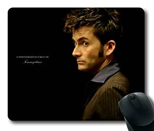 Customizablestyle Doctor Who David Tennant Mousepad, Customized Rectangle Diy Mouse Pad