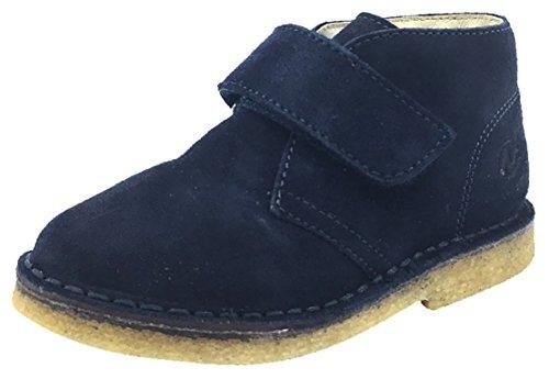 Naturino Kid's Chukka Desert Boot (Navy Suede, 26 M EU/9.5 M US Toddler)
