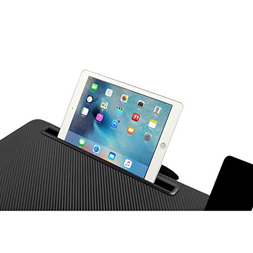 Laptop Lap Desk Tablewith Tablet Tray,Cell Phone Tray,Pen Tray,Built-in Laptop Stop Bar,Built-in Mouse Pad, Pillow Foam Cushion, Soft Wrist Rest Fits Laptop Up to 17.3 Inch by ELKGEAR (Image #3)