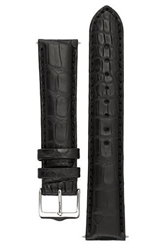 signature-dundee-in-black-18-mm-watch-band-replacement-watch-strap-genuine-alligator-leather-silver-