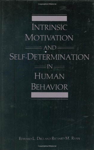 Intrinsic Motivation and Self-Determination in Human Behavior (Perspectives in Social Psychology) by Edward L Deci
