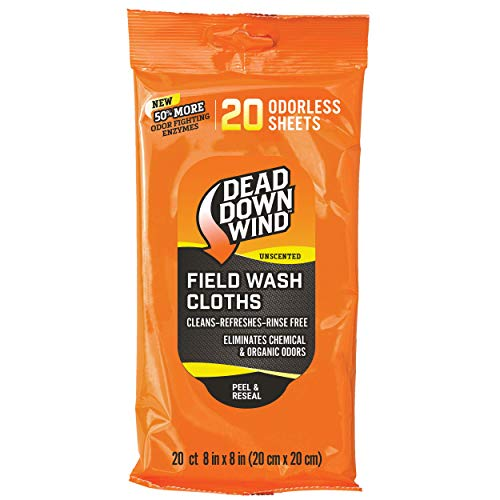 - Dead Down Wind Unscented Wash Towels - All-Purpose Cleansing Wipes