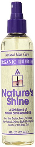 Organic Root Stimulator Nature's Shine Hair Spray, 8 Ounce