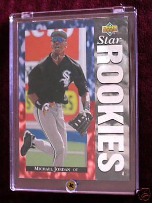 Upper Deck Michael Chicago Baseball