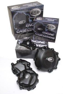 R&G Kawasaki Ninja 300 / 250 '13- / Z250 Engine Case Covers, pair