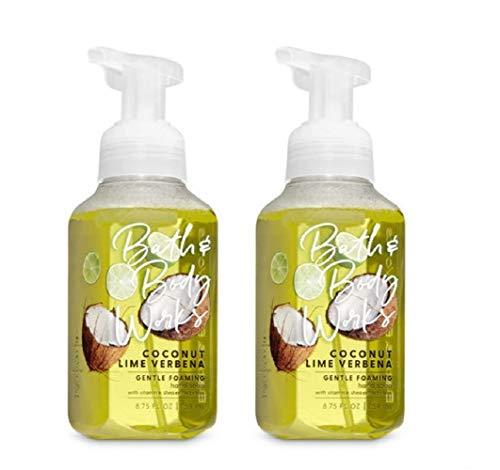 - Bath & Body Works Gentle Foaming Hand Soap in Coconut Lime Verbena (2 Pack)
