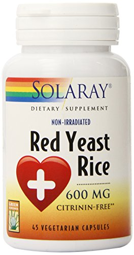 Cheap Solaray Red Yeast Rice, 600 mg, 45 Count