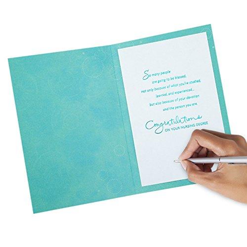 Hallmark Nursing School Graduation Greeting Card (Nurse Graduation) Photo #3