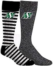 CFL Saskatchewan Roughriders 2-Pack Dress Socks