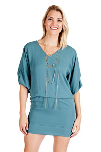 Rubber Ducky Dream A Little Dream Dress Green Small
