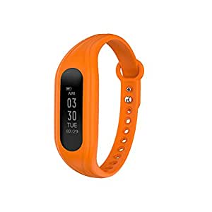 Naviforce Smart Wristband OLED Screen BT Smart Watch with Fitness Tracker - Orange
