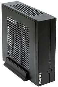 """Chieftec IX-01B-OP - Caja de ordenador de sobremesa (mini-ITX, 1 x 5.25"""", 2 x 2.5"""", 1 x3.5""""), negro"""