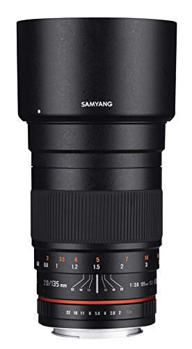 (Samyang 135mm f/2.0 ED UMC Telephoto Lens for Nikon Digital SLR Cameras)