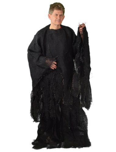 Zagone Rotting Gown,  Black Burlap Shirt &