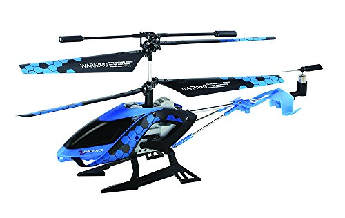 Sky Rover Stalker, 3 Channel IR Gyro Helicopter, Blue Vehicle