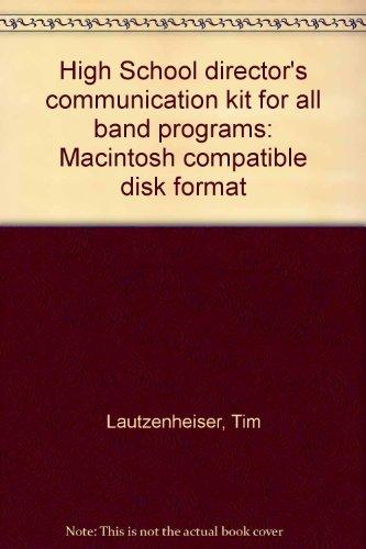 High School Director'S Communication Kit Macintosh Disk Pkg
