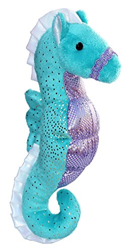 Aurora World - Star The Seahorse - Soft, Squishy, and Huggable Plush Stuffed Animal - Small]()