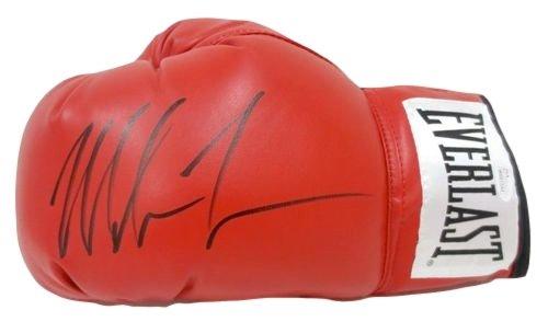 Mike Tyson Signed Red Everlast Left Hand Boxing Glove JSA