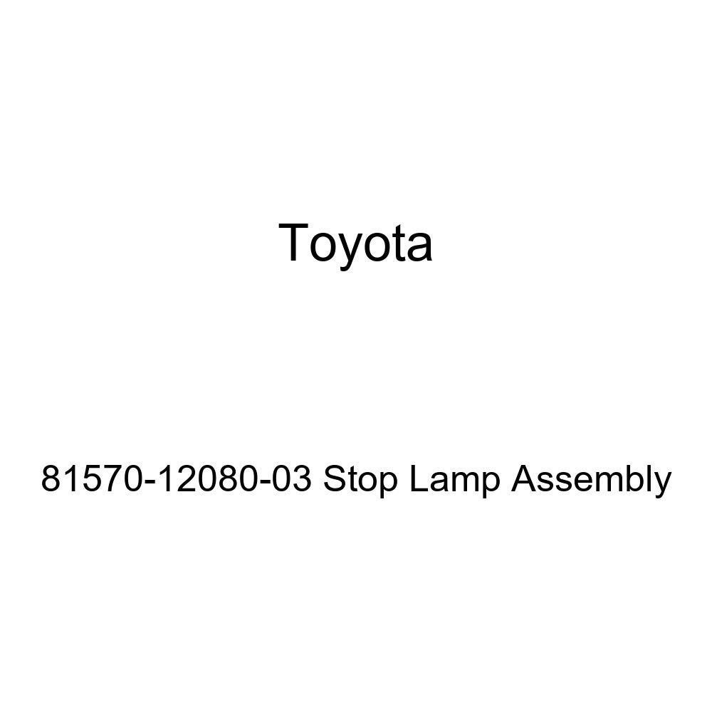 Genuine Toyota 81570-12080-03 Stop Lamp Assembly