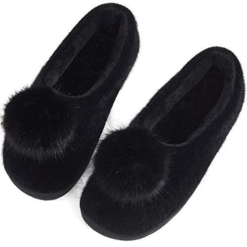 Black Femminile Materna Mantenere Black Cotone Coperta Spesso Per color Pantofole Size Carina E Inverno Con Caldo Di Borsa Autunno Fondo Xfghn Casa Home Antiscivolo 2 wSxUvYq1