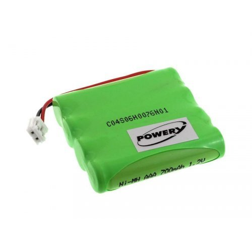 Powery Batterie pour Babyphone Tomy Walkabout Premier Advance, 4,8V, NiMH [ Batterie pour Babyphone ] 1.77.TOM.1.1