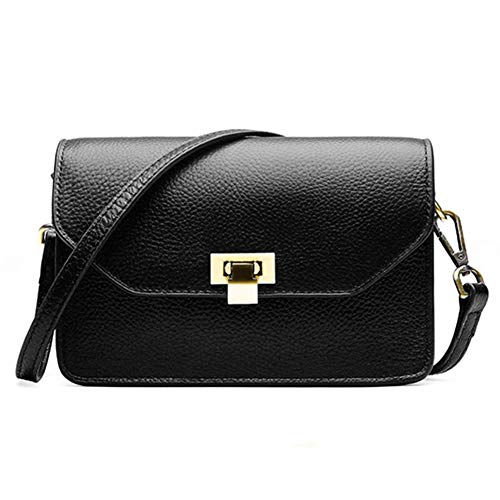 Messenger Gloozd red Per Pelle Tracolla Black Vintage Borsa In Donna A Uqr5wq