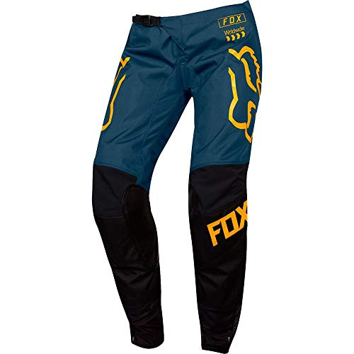 2019 Fox Racing Youth Girls 180 Mata Pants-Black/Navy-24
