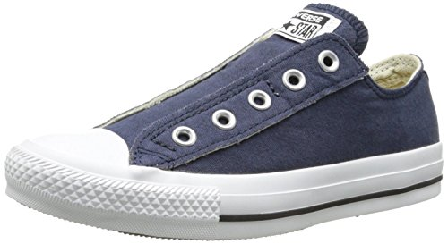 Converse Little Kids Chuck Taylor All Star Slip (3 M US Little Kid, Navy) (All Star Converse Kids)