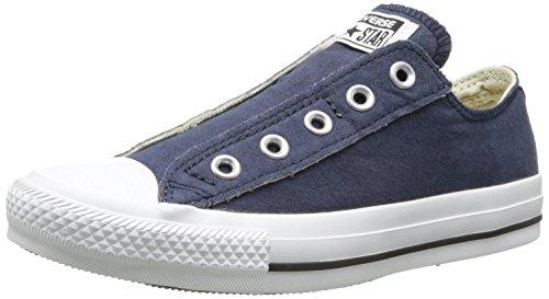 Converse Chuck Taylor All Star Core Slip (Little Kid), (2.5 M US Little Kid, Navy)