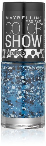 Maybelline New York Color Show Nail Lacquer, Blue Marks The Spot, .23 Fluid Ounce (Nail Polish Maybelline Color Show compare prices)