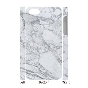 ZK-SXH - Marble Personalized 3D Phone Case for iPhone 4,4G,4S, Marble Customized 3D Case