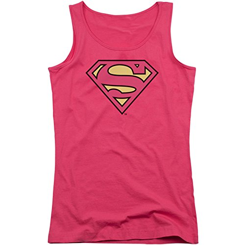 Superman+tank+tops Products : DC Comics Women's Superman Classic Logo Womens Tank Pink