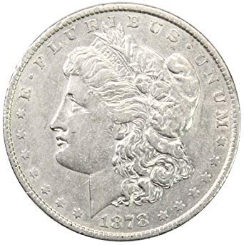 1878 P Morgan Silver Dollar $1 About Uncirculated