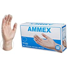AMMEX - Nitrile Gloves - Disposable, Powder Free